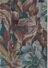 Yeşil Kahverengi İngiliz Yaka Çiçek Desenli Gömlek