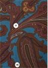 Kahverengi Yakası Düğmeli Etnik DesenliGömlek