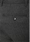 Antrasit Çizgili Yün Pantolon