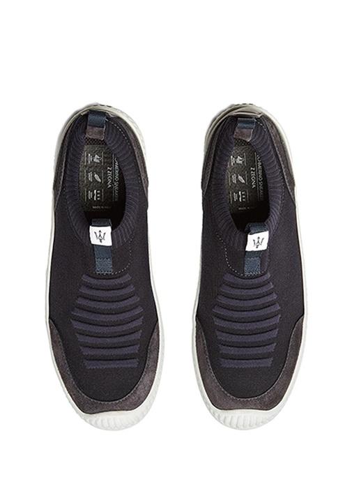 Lacivert Çorap Formlu Erkek Sneaker