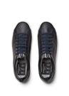 Çorap Formlu Detaylı Logolu Erkek Deri Sneaker
