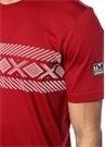 Kırmızı Baskılı Basic T-shirt