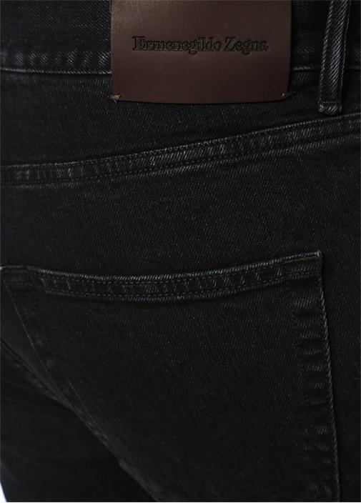 Narrow Siyah Normal Bel Boru Paça Jean Pantolon