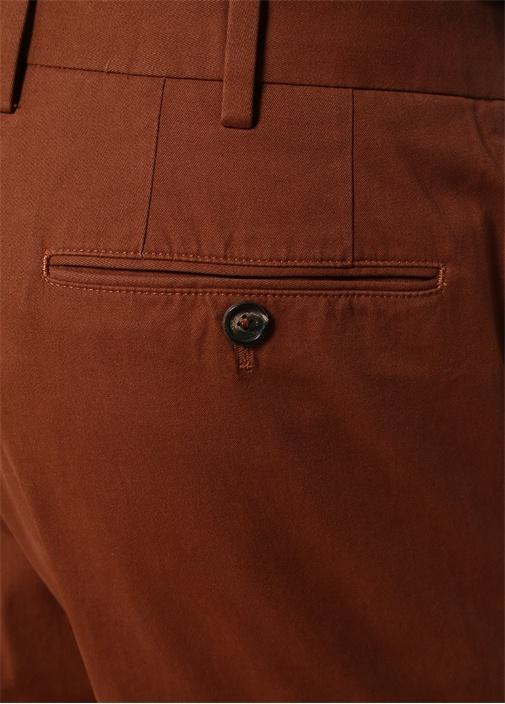 Kiremit Normal Bel Dar Paça Pantolon