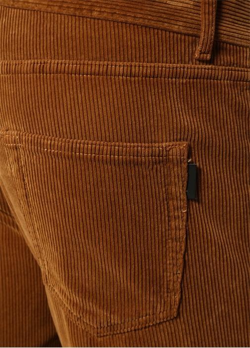 Taba Çizgi Dokulu Pantolon