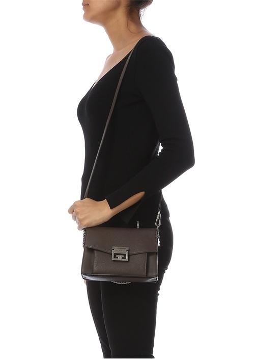 Gv3 Small Kahverengi Kadın Deri Çanta
