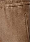 Bronz Yüksek Bel Dar Paça Deri Pantolon
