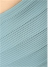 Puzzle Mavi Omuz Askılı Yüksek Bel Bikini Altı