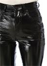Siyah Yüksek Bel Dar Paça Pantolon