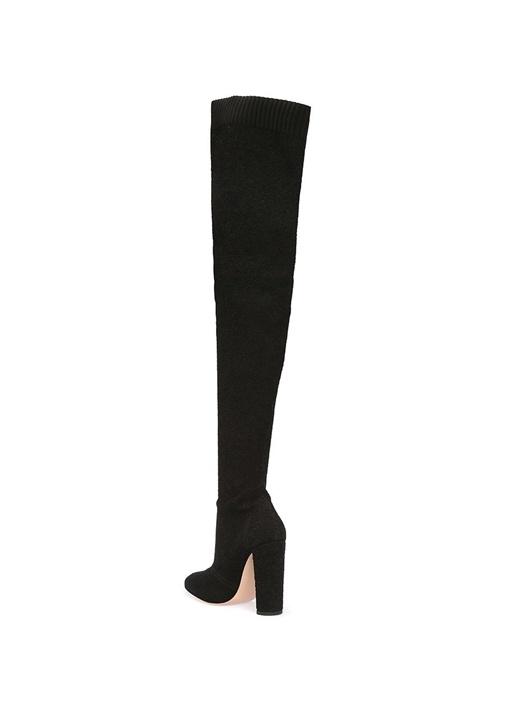 Isa Cuissard Siyah Kadın Çizme