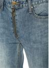 Lamia Slim Yüksek Bel Yırtmaçlı Jean Pantolon
