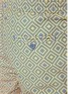 Angra Sarı Geometrik Desenli Cepli Mayo