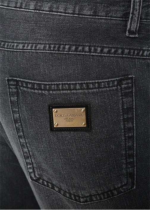 Taormina Gri Normal Bel Dar Paça Jean Pantolon