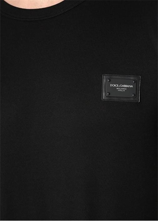 Siyah Logolu Basic T-shirt