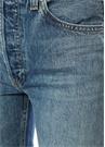 Yüksek Bel Stove Pipe Jean Pantolon