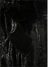 Siyah Yüksek Bel Simli Kuşaklı Kadife Pantolon