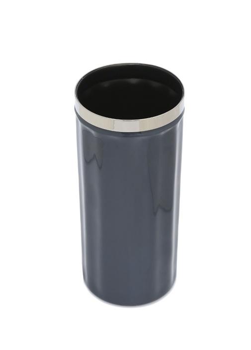 Enamel Josefine Lacivert Silindir Formlu Vazo
