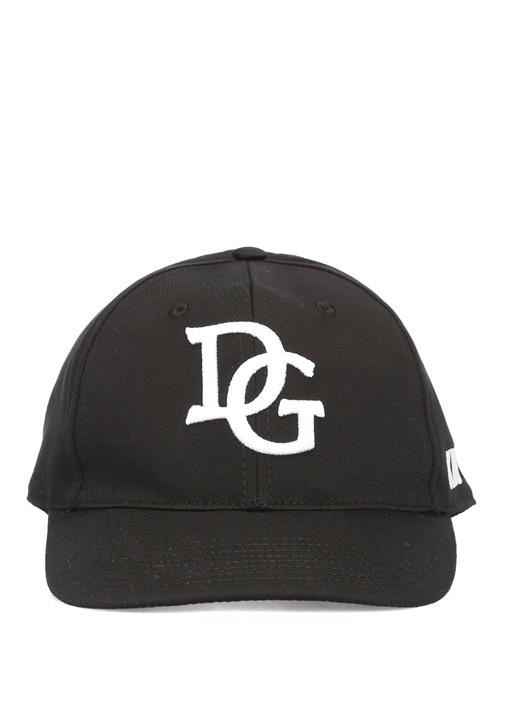 Lacivert Logo İşlemeli Erkek Şapka