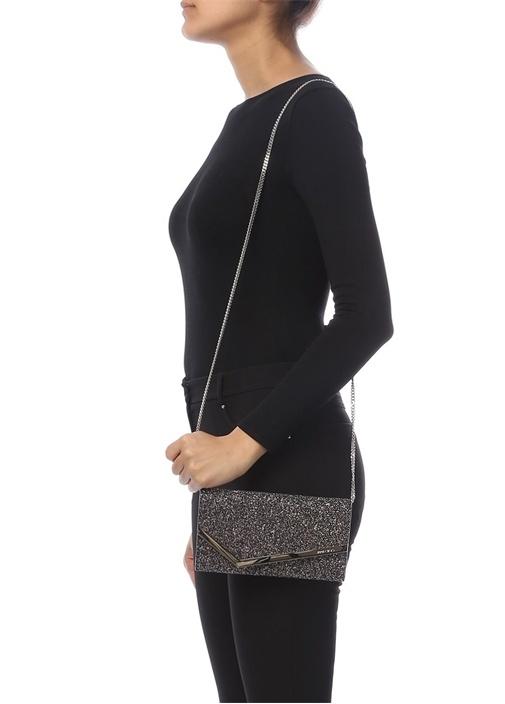 Emmie Simli Logolu Kadın Abiye Çanta