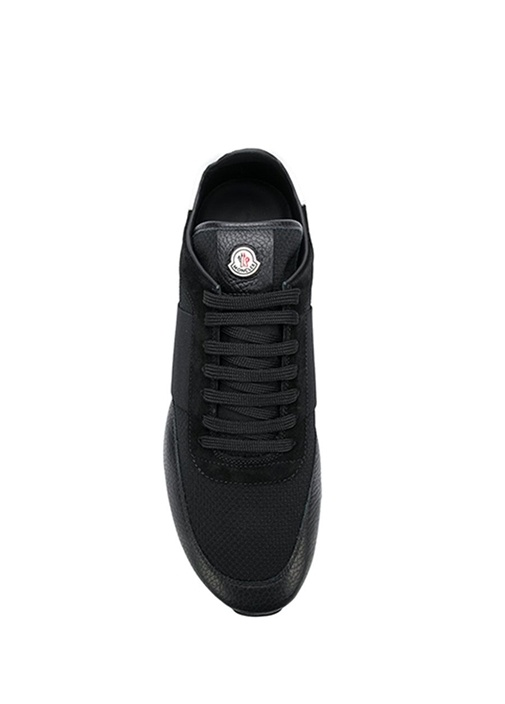 Horace Siyah Deri Erkek Sneaker