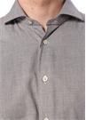 Gri Düğmeli Gömlek