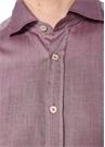Drop 2 Pembe Melanj İngiliz Yaka Gömlek
