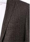 Drop 7 Kahverengi İkat Desenli Yün Ceket