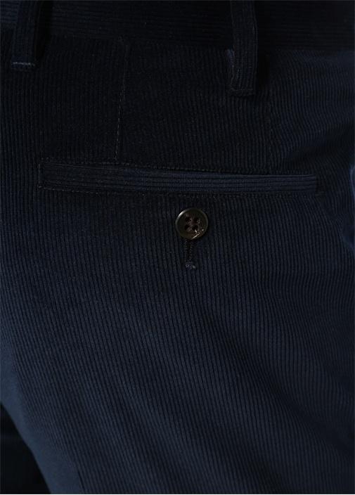 Drop 7 Lacivert Ribli Pantolon