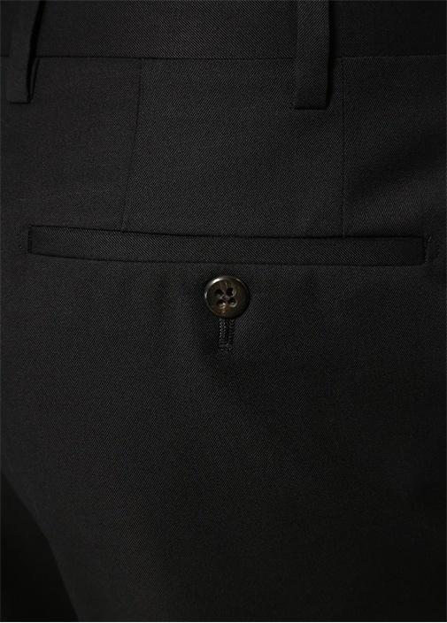Drop 7 Siyah Chino Yün Pantolon