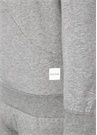 Gri Melanj Kapüşonlu Sweatshirt