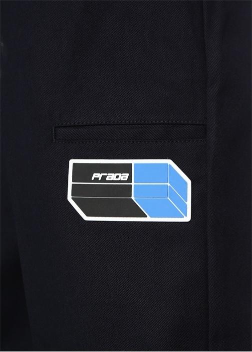 Lacivert Logolu 5 Cepli Pantolon