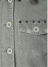 Gri Troklu Yıpratmalı Düğmeli Ceket