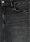 Siyah Trok Detaylı Mini Jean Etek