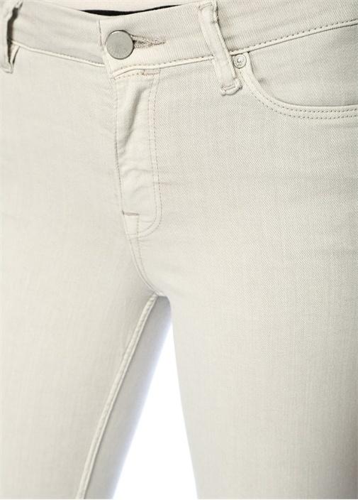 Grace Ankle Gri Normal Bel Skinny Jean Pantolon
