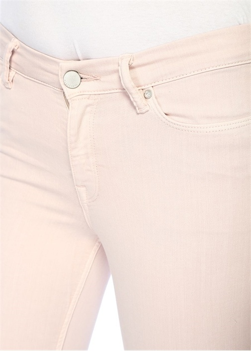 Grace Ankle Pembe Normal Bel Skinny Pantolon