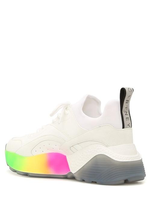Eclypse Beyaz Çorap Formlu Kadın Sneaker