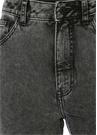 Donna Gri Organik Pamuklu Mom Jean Pantolon