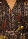 Robe Disy Karışık Desenli Anvelop Maxi Elbise