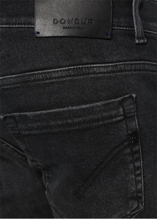 George Skinny Fit Siyah Jean Pantolon