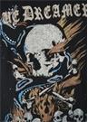 Slub Antrasit Baskılı Uzun Kollu T-shirt