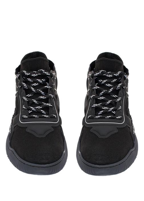 Loop Siyah Logolu Bantlı Erkek Sneaker