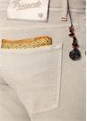 Bej Poşet Mendil Detaylı Pantolon