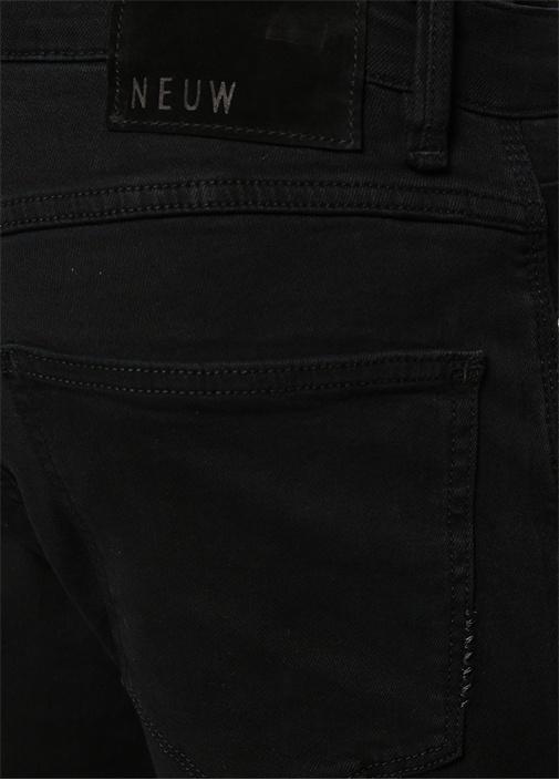 Rebel Skinny Fit Siyah Jean Pantolon