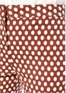 Kahverengi Normal Bel Puanlı Cigarette Pantolon