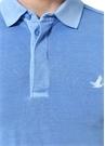 Slim Fit Mavi Polo Yaka T-shirt