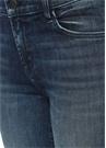 Maude Normal Bel Lacivert Cigarette Jean Pantolon