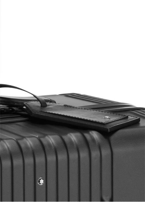 Siyah Logolu Unisex Bavul