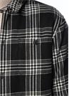 Fayette Siyah Polo Yaka Ekoseli 2 CepliGömlek