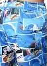 Mavi Normal Bel Comic Baskılı Mayo