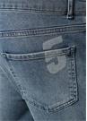 Mavi Normal Bel Lazer Baskılı Jean Pantolon